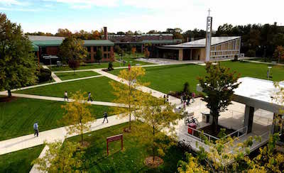Sacred Heart University Campus Quad