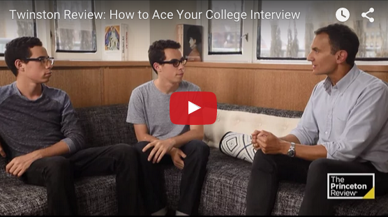 Ace your college interview video