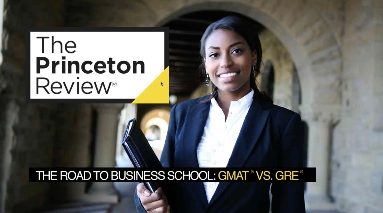 screenshot The Road to Business School: GMAT vs. GRE